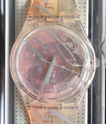 Nos New Sweetened Gr132 Swatch Watch Watch Vintage Old Stock