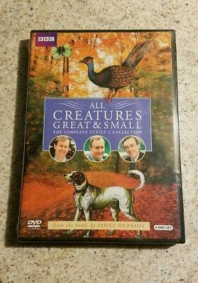 All Creatures Great and Small Series Two Set (DVD, 2010, 4-Disc Set) Brand New
