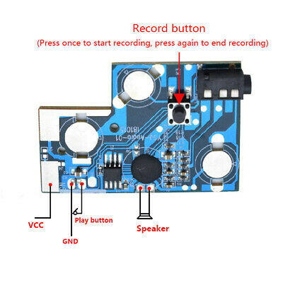 Accessories & Parts Recordable Voice Module For Greeting Card Music Sound Talk Chip Musical