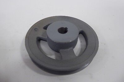 "TB WOOD/'S AK5158 5//8/"" Fixed Bore 1-Groove Standard V-Belt Pulley 4.95/"" OD"