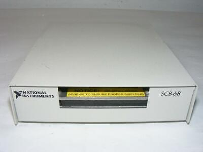 National Instruments SCB-68 68-Pin Shielded I/O Connector Block 182469-01B