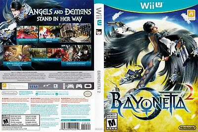 Nintendo Wii u Replacement Case and Cover Bayonetta 2