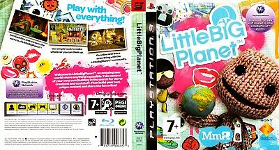 Sony Ps3 Replacement Game Case and Cover Little Big Planet