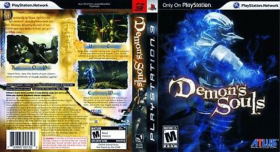 Sony Ps3 Replacement Game Case and Cover Demon's Souls