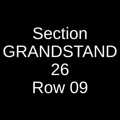 2 Tickets Zac Brown Band 8/31/19 Fenway Park Boston, MA