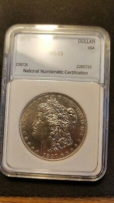 1897 S Morgan Silver Dollar Uncirculated Near Choice BU
