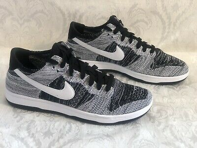 brand new 919d8 6d755 NEW MEN'S SIZE 10 Nike Dunk Low Flyknit Basketball Shoes 917746-003 Oreo