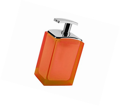 Gedy Orange G-Antares Dispenser with Plastic Pump (AT806700300)