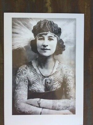 Old Vintage Tattoo Photos 1930 40s Tattoo/Tattooing Parlor/Shop Wall Art Photos