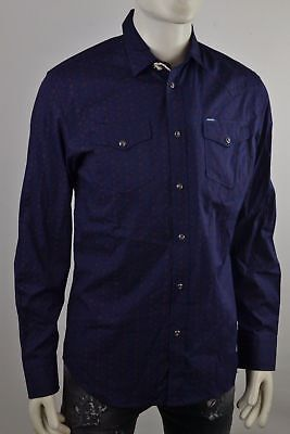 Diesel Sulf Star Shirt Men's Long Sleeve Leisure Size Selectable