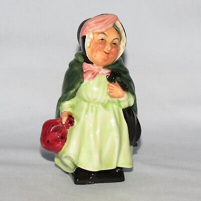 DOULTON ENGLAND SAIREY GAMP first series DICKENS figure HN533 M46 OLD AND EARLY