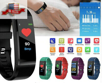 NEW Waterproof Bluetooth Smart Watch Fitness For Android HTC Samsung iPhone iOS