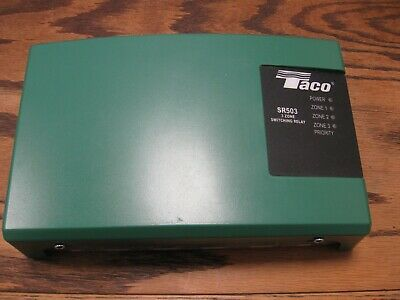 New! Taco Comfort Solutions 3 Zone Switching Relay SR503