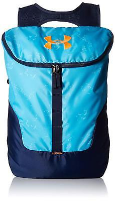6338b2cfd0c Under Armour UA Expandable Sackpack /Backpack, Venetian Blue, School  /Travel Bag