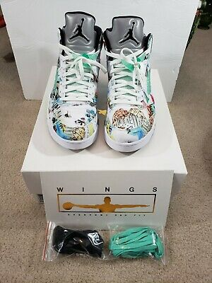 488b7981554 DS NEW 2011 NIKE AIR JORDAN 5 V RETRO Olympic Independence Day ...