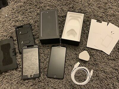 @@@ Apple iphone 7 plus 128gb Jet Black Mint Condition in Original Box @@@@@@