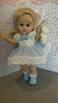 Adorable  Vintage Vogue Ginny Doll Blue Eyed MLSLW with Beautiful Blond Hair ❤