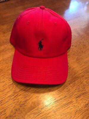 Classic RL Polo Small Embroidery Pony Baseball Golf Hat Mens Womens Adjustable