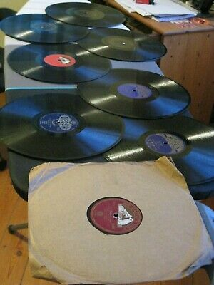 50 x 78 records with an Alba portable wind up gramaphone and