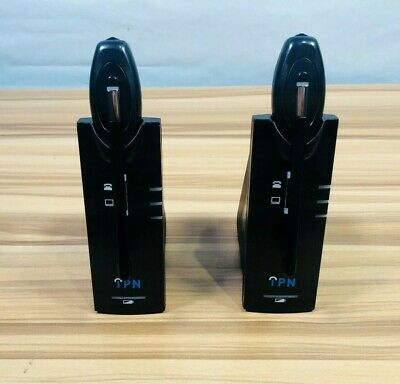 LOT OF 2 IPN  W880 Wireless Headset DECT *TESTED FOR POWER *