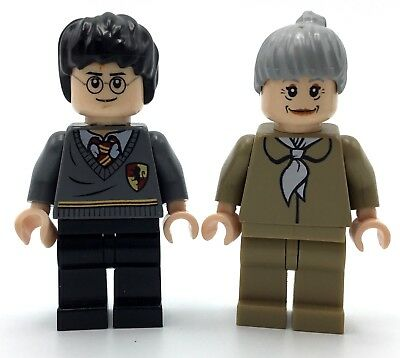 LEGO Lot of 2 Brown Harry Potter Wands Minifigure Accessory
