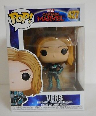 Funko Captain Marvel Vers Pop! Vinyl Figure #427