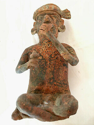 Pre-Columbian Nayarit Seated Figure