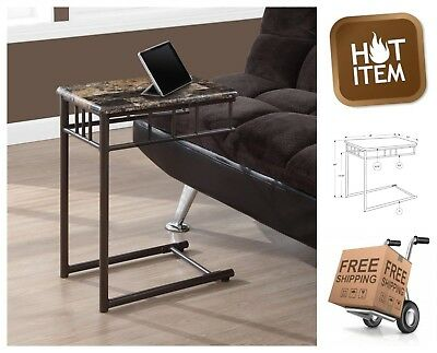 Astonishing Tv Tray End Table Snack Slide Under Sofa Couch Metal Gmtry Best Dining Table And Chair Ideas Images Gmtryco