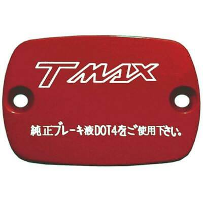 Pair Caps Covers Master Cylinder Yamaha Tmax T Max T-Max 500 530 '01'/13 Red