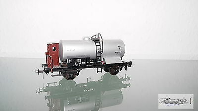 Piko, Tank Wagon with Silver Boiler and Brakeman's Cab the Dr for Track H0#