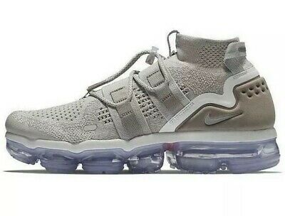 "NIKE AIR VAPORMAX FLYKNIT UTILITY ""MOON PARTICLE"" AH6834-205 Men's Size 8.5"