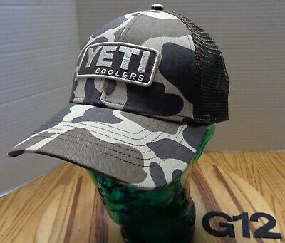 ab8510ba76917 Nwot Yeti Coolers Hat Camo Embroidered Snapback Adjustable Never Worn G12