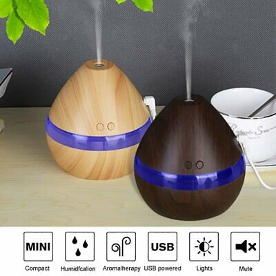 Ultrasonic LED Aroma Diffuser Essential Oil Aromatherapy Air Humidifier Purifier