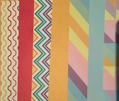 Patterned Paper Scrapbooking / Card Making / Craft 10 Pieces 15cm X 21cm