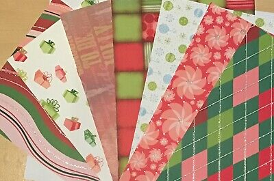 Patterned Card Stock Scrapbooking / Card Making / Craft 10 Pieces 15cm X 21cm