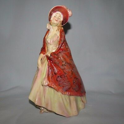 Royal Doulton figurine The Paisley Shawl HN1392 SCARCE Old Made in UK