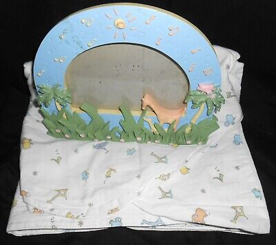 Carters John Lennon MUSICAL PARADE Real Love Baby Picture Frame & Valance