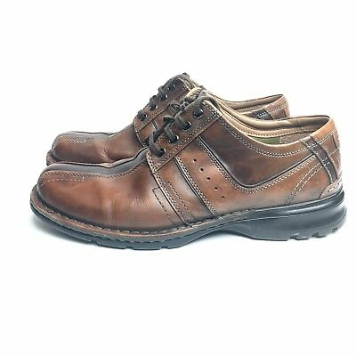 84deedef4e CLARKS BROGUES MENS 12 Brown Leather Lace Up Formal Shoe - $27.99 ...