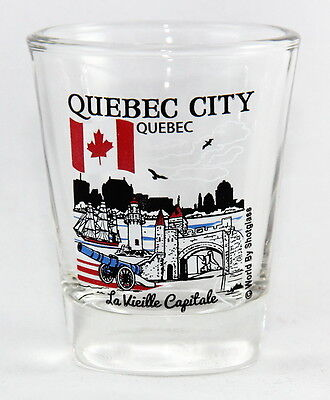 Quebec City Quebec Canada Great Canadian Cities Collection Shot Glass Shotglass
