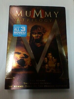 The Mummy Trilogy DVD new