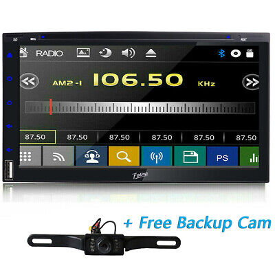 "HD Sony Lens Double 2Din 6.2""Car Stereo Radio DVD Player DTV Bluetooth MP3 Mic"
