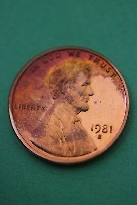 Florida Toned 1981 S Lincoln Memorial Cent Proof Flat Rate Shipping TOM45