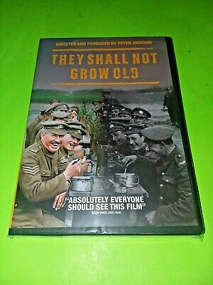 THEY SHALL NOT GROW OLD (New, 2018)  Peter Jackson WWI Documentary