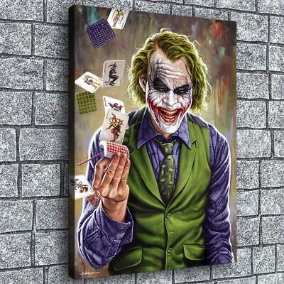 "12""x16""Marvel clown pictures hd canvas print home decor room wall art posters"