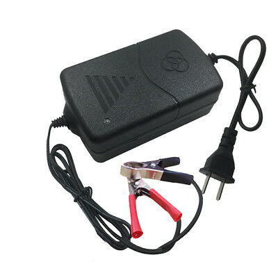 Car Truck Motorcycle 12V 1A Smart Compact Battery Charger Tender Maintainer