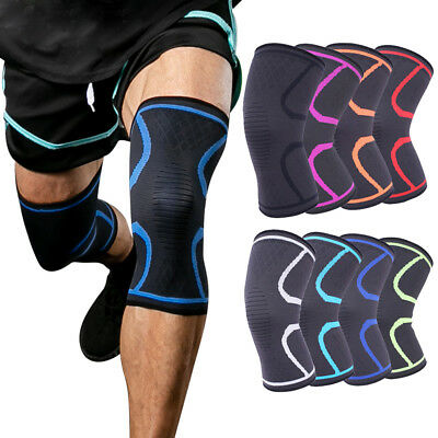 Compression Knee Brace Support Sport Sleeve Arthritis Joint Pain Patella-Relief