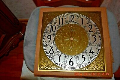 Vintage Grandfather Clock Dial Mason & Sullivan for project