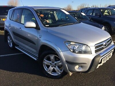 06 Toyota Rav4 2.2 D-4D T180 Nav & Leather, 8 Stamps, 82K Miles *spares/repairs*