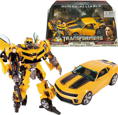 Transformers Bumblebee Human Alliance Robot Truck Car Action Figures Kid Toy