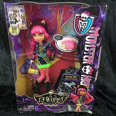 MONSTER HIGH Doll 13 Wishes Howleen Wolf Daughter of Werewolf NEW